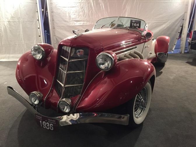 Classic Cars Show Dubai 2015