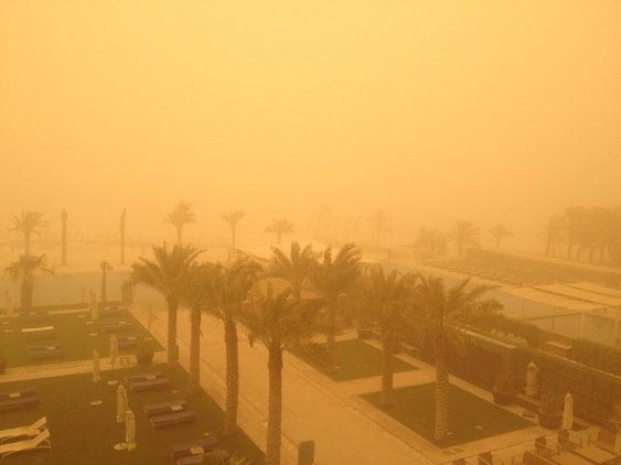 dubai desert storm