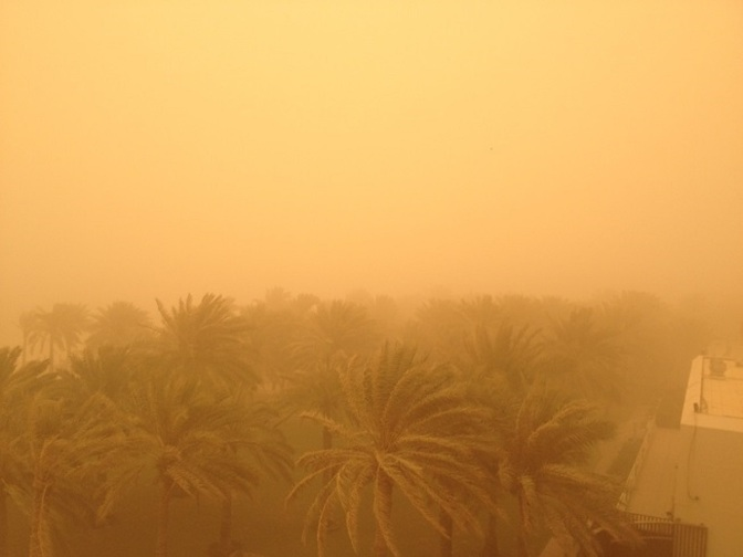 Nature Power – Sand Storm Dubai
